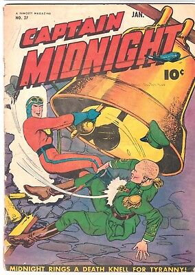 Captain Midnight   # 27  1945    Fawcett