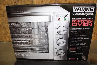 Waring 120V 1700W Half Size Countertop Convection Oven WC0500X