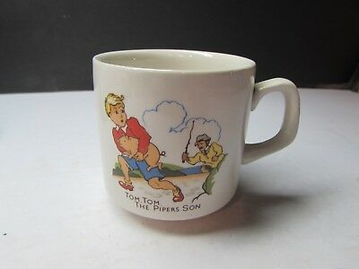 Vintage Woods England Tom Tom The Pipers Son Childs Mug