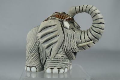 Rinconada Classic #09 Small Elephant Top Knot-Green/Burg/White Retired In Box!