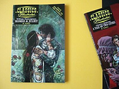 Acclaim Classics Illustrated - Romeo and Juliet - As new!
