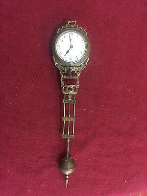 Small Junghans Swing Clock, Excellent
