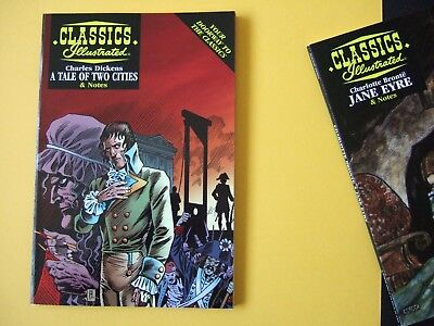 Acclaim Classics Illustrated - A Tale of Two Cities by Charles Dickens - As new!