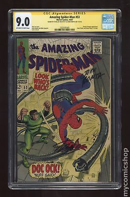 Amazing Spider-Man (1963 1st Series) 53 CGC 9.0 SS Stan Lee 1323181005