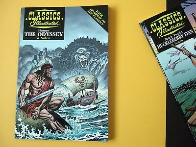 Acclaim Classics Illustrated - The Odyssey by Homer - As new!