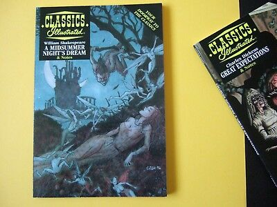 Acclaim Classics Illustrated - A Midsummer Night's Dream - As new!