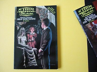 Acclaim Classics Illustrated - Great Expectations by Charles Dickens - As new!