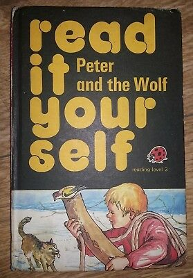 Ladybird Book - Read It Yourself - Peter & the Wolf - Series 777