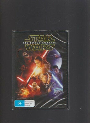 NEW/SEALED:Star Wars The Force Awakens DVD