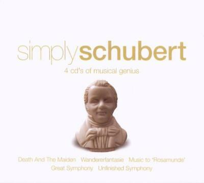 Various - Simply Schubert CD (4) Union Sqre NEW
