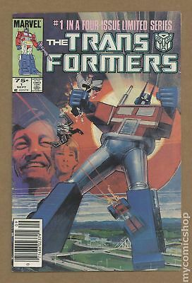 Transformers (Marvel) 1st Printing #1 1984 VG 4.0