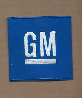 New 3 Inch Gm General Motors Iron On Patch Free Shipping