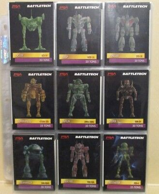 Battletech cards 1993 -- 160 cards in mint condition