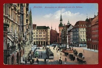 1900s Germany Muenchen Heritage Postcard mint
