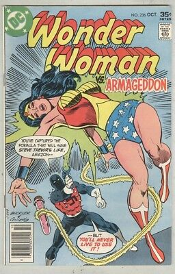 Wonder Woman #236 FN October 1977