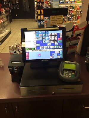 Gilbarco Veeder-Root Passport Server and Client POS System - Great Condition!