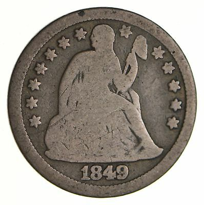 Historic 1849 Seated Liberty Dime *627
