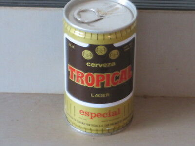 Tropical. Lager Cerveza.  Real. Beauty Canary Isles. Bo. Steel. Tab
