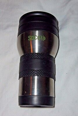SOCO Lime Travel Stainless Steel Insulated Hot Cold Drink Cup Mug 14oz