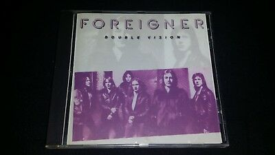 Double Vision By Foreigner Cd 1978 Atlantic Recording Music Album 10 Tracks Disc