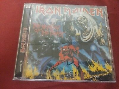 Iron Maiden The Number Of The Beast Rock Music Cd Album Disc 11 Tracks Sanctuary