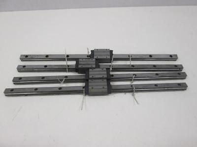 Lot of 4 IKD LWH 15 Linear Motion Guide Rail T57942
