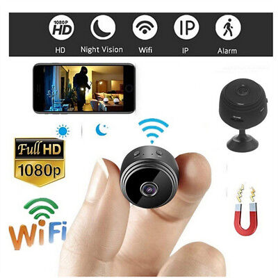 Mini HD 1080P Wireless Wifi IP Spy Security Camera Camcorder For iPhone Android