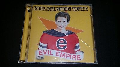 Evil Empire By Rage Against The Machine Cd 1996 Epic Music Album 11 Tracks Disc