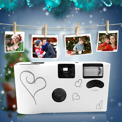 1/5/10/20×36 Photos Power Flash HD Single Use  Disposable Film Camera Party Gift