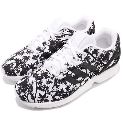 b0be7d915683f adidas Originals ZX Flux W Black White Tree Women Running Shoes Sneakers  S74981