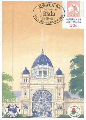 Australia Maxicard set for 1984 Stamp Show AUSIPEX 84