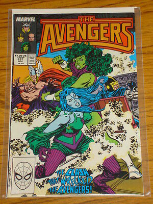 Avengers #297 Vol1 Marvel Comics November 1988