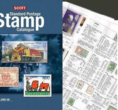 Zimbabwe 2019 Scott Catalogue Pages 939-950