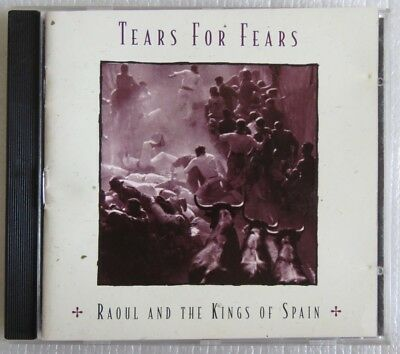 Tears For Fears Raoul And The Cd Brazil 1995 Sony Music Silver Stamp Promotional
