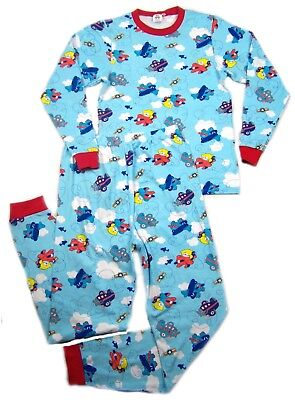 Adult Airplanes & Teddy's baby blue color PJ's autistic