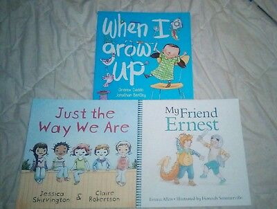 3 X Illustrated Children's Book Brand New Paperback Book