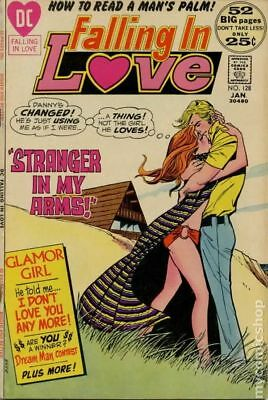 Falling in Love #128 1972 GD/VG 3.0 Stock Image Low Grade