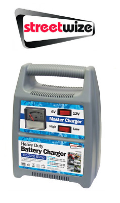 Streetwize 6/12v 8 Amp Fully Automatic Car Battery Charger - SWBCG8