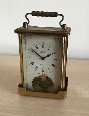 Carriage clock by Schatz of Germany. Not working . 8 day movement