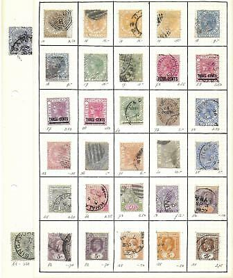 Malaya stamps Collection of 32 CLASSIC stamps HIGH VALUE!