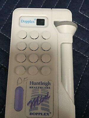 Huntleigh Mini Dopplex  D900 Vascular / Obstetric Doppler (B5-4)