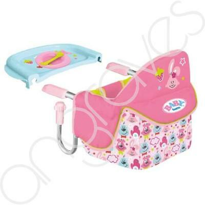 Baby Born Feeding Chair Table by Zapf Creation Doll Accessory (Pink)