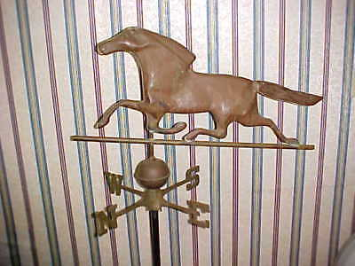 Horse Weathervane With Ball And Signals