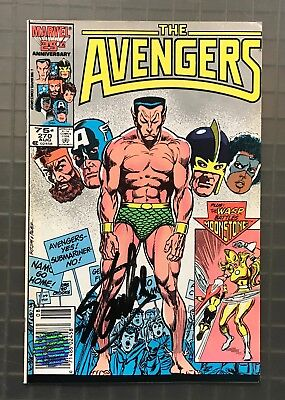 Stan Lee Signed THE AVENGERS #270 Marvel 1986 AUTO w/ EXCELSIOR Hologram