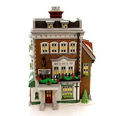 Dept 56 Dickens Village - Crown & Cricket Inn 57509 1St Edition Limited Ed New