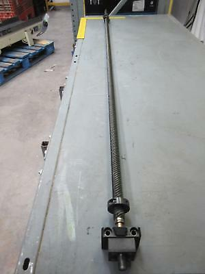 "NSK 2550 Ballscrew Bearing w/ 85"" Rail T65856"