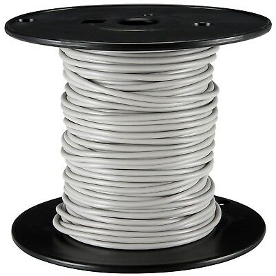 100ft 22awg 22ga Silver Coated Copper White M22759/44-22-9 600v Stranded Wire
