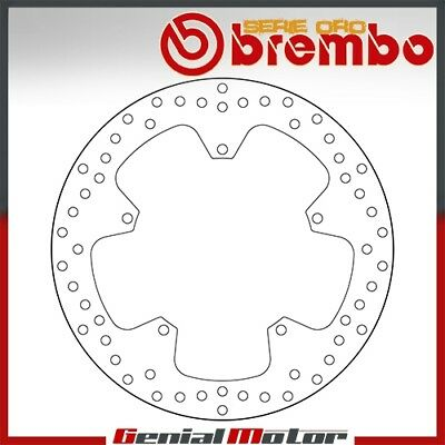 Brembo Serie Oro Fixed Front Brake Disc for Yamaha Yzf R 2008 > 2013