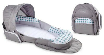 Baby Delight Snuggle Nest Traveler Portable Infant Bed Sleeper Diamond Lattice