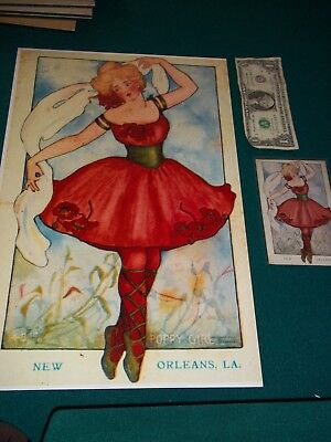 Antique New Orleans Louisiana Postcard 111 Years Old Enlarged To 11 X 17 La